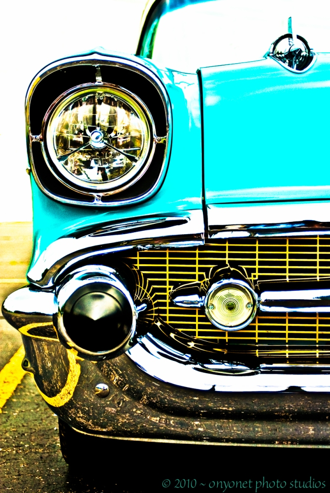 """1957 Bel Air High Contrast"""